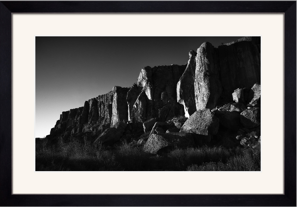 Rock Creek, Framed and Matted